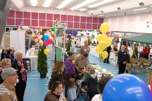 Tradeshow in the Community Center