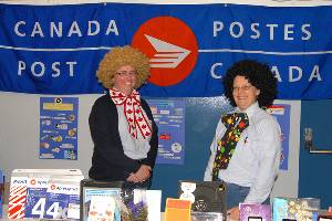 Post Office at Tradeshow2009