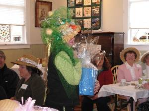 Easter Bonnet Contest & Tea (7)