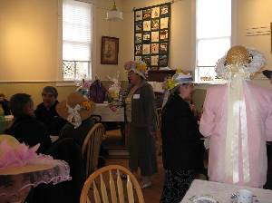 Easter Bonnet Contest & Tea (3)