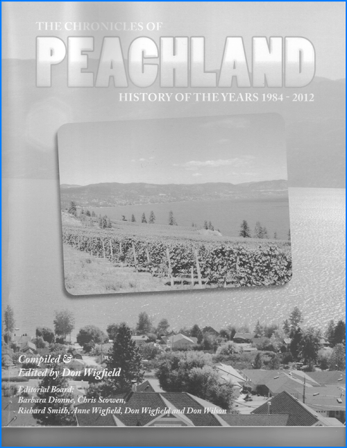 Chronicles of Peachland - Book Cover