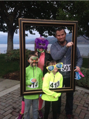 Glow Run Picture Frame 2016